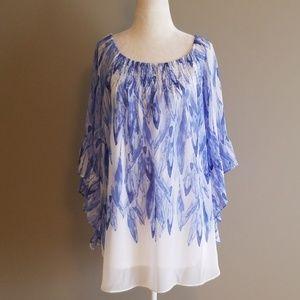 Alfani tunic blouse